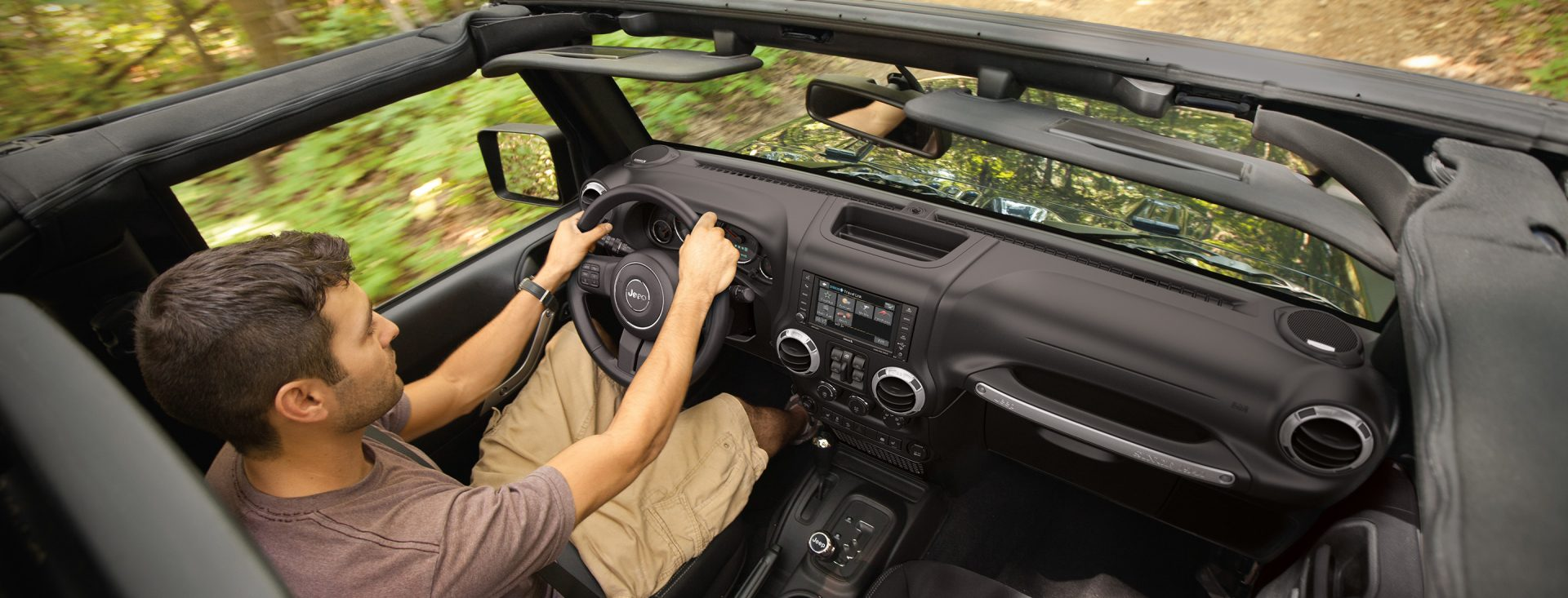 2017 Jeep Wrangler Unlimited Interior Hero