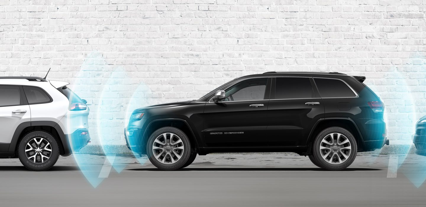 2017 Jeep Grand Cherokee Safety Security Parksense