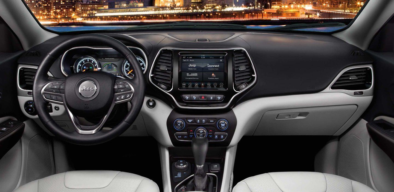 Jeep Cherokee Interior >> 2019 Jeep Cherokee Interior Seating Comfort