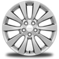 Display 18-Inch x 7.0-Inch Polished Aluminum Wheels