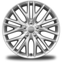 Display 20-Inch x 8.0-Inch Fully Polished Aluminum Wheels