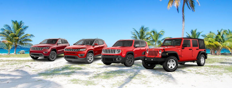 2018 Jeep Vehicle Lineup
